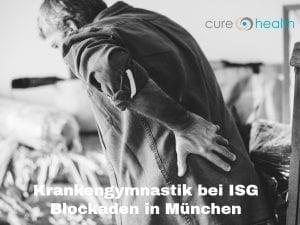 Krankengymnastik bei ISG Blockaden in München - curehealth (2)